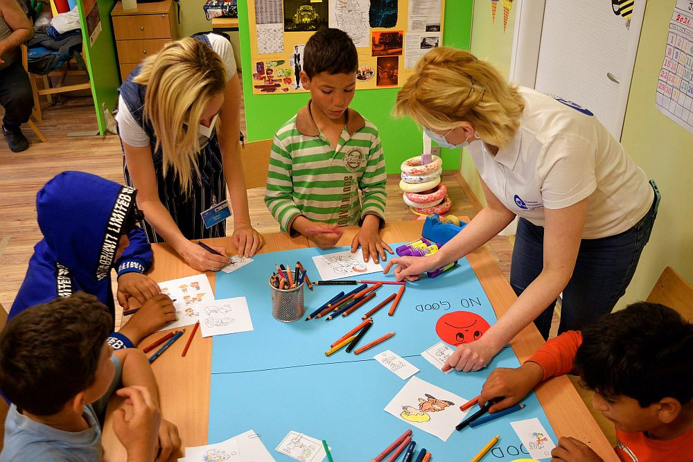 Obeležen međunarodni dan zaštite deteta u prihvatnom centru Sombor