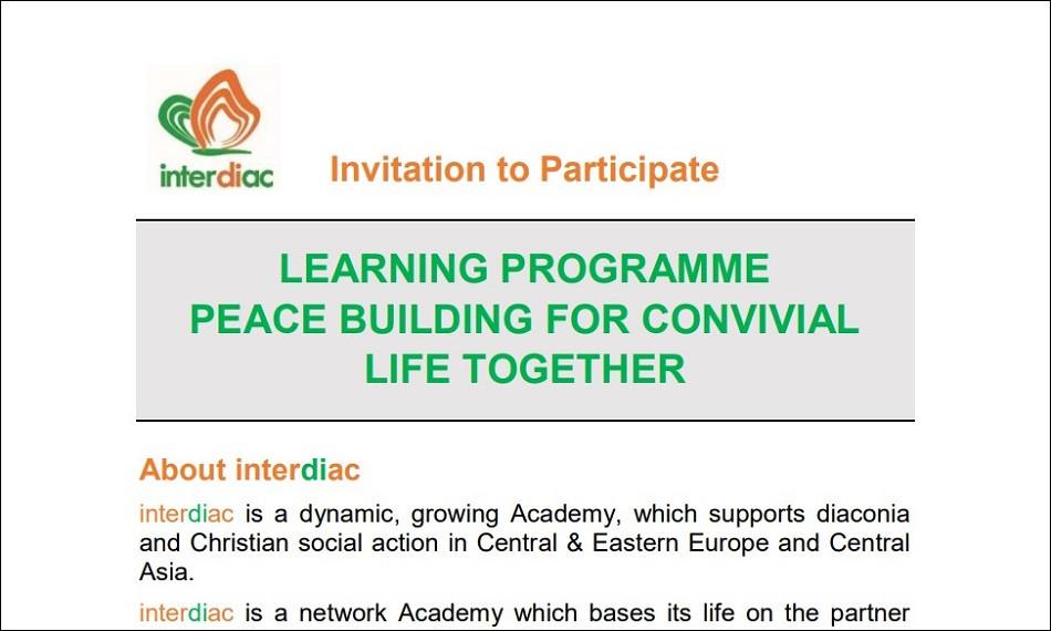 Poziv na učešće u interdiac edukaciji