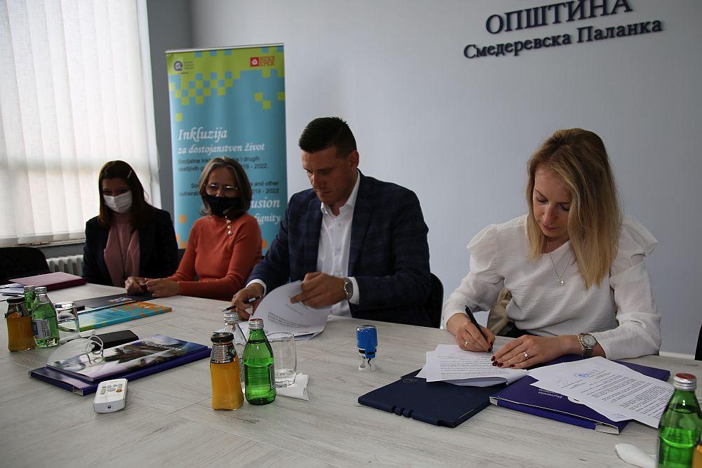EHO i Opština potpisivanje Sporazuma o sprovođenju Projekta