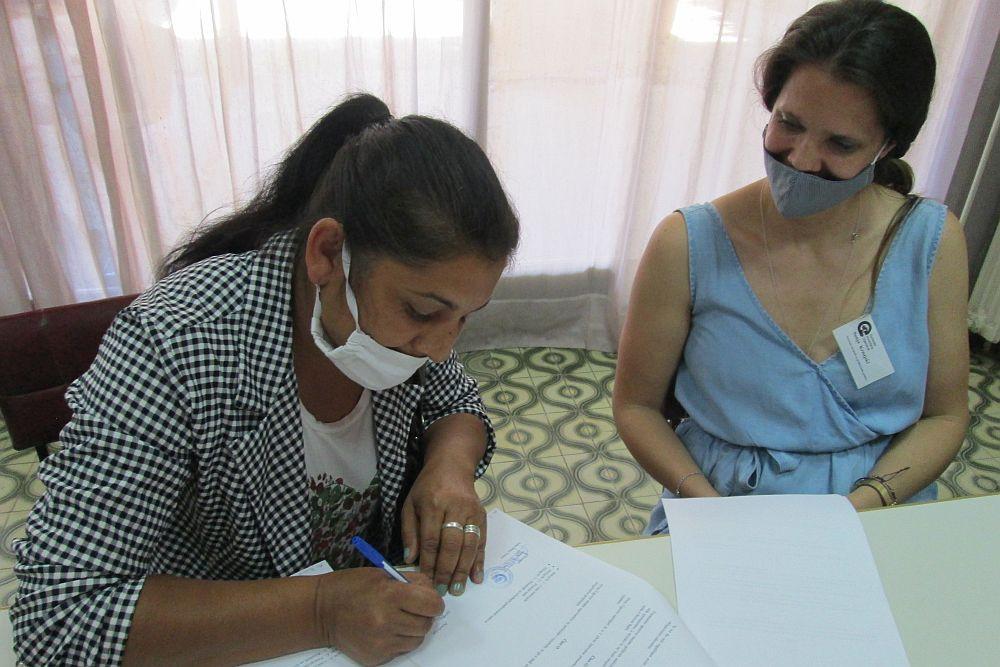 Potpisivanje ugovora o donaciji