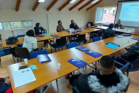 Učesnici prvog ciklusa naprednih obuka za registraciju preduzetničkih inicijativa