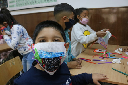 osnovna skola dusan radovic - radionica - maske
