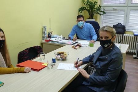 Potpisivanje Sporazuma o saradnji u OŠ Veljko Petrović, Begeč