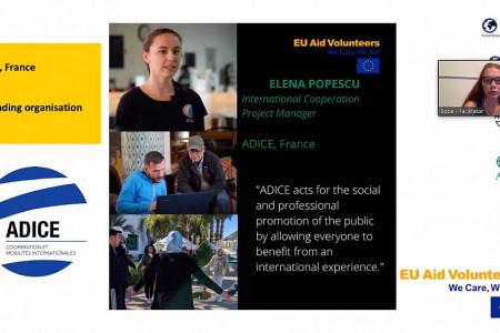 Podrška organizacijama za prijem volontera iz EU