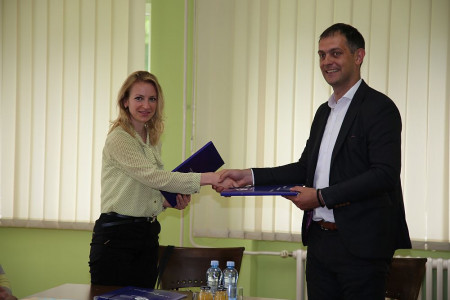 Direktorka EHO i predsednik opštine Žabalj potpisali Sporazum o saradnji