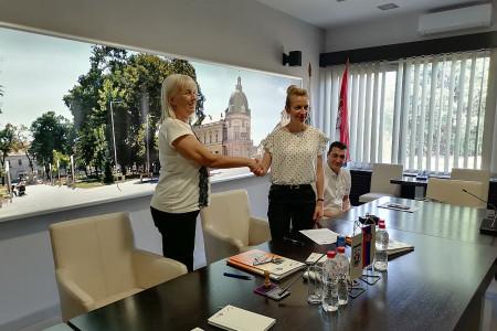 potpisivanje sporazuma o saradnji Sremska Mitrovica i EHO